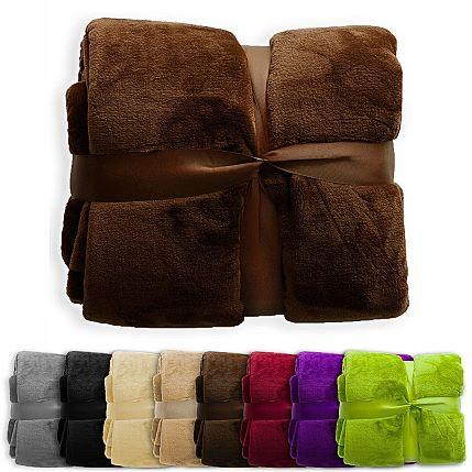 Baumwolldecken, verschiedene Farben